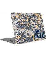 Utah Jazz Grey Digi Camo Apple MacBook Air Skin