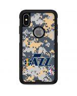 Utah Jazz Grey Digi Camo Otterbox Commuter iPhone Skin