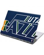 Utah Jazz Large Logo Yoga 910 2-in-1 14in Touch-Screen Skin
