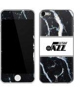 Utah Jazz Marble Apple iPod Skin