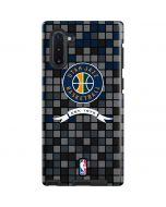 Utah Jazz Pixels Galaxy Note 10 Pro Case