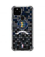 Utah Jazz Pixels Google Pixel 5 Clear Case