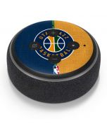 Utah Jazz Split Canvas Amazon Echo Dot Skin