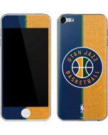 Utah Jazz Split Canvas Apple iPod Skin