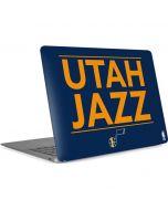 Utah Jazz Standard - Blue Apple MacBook Air Skin