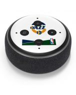 Utah Jazz White Split Amazon Echo Dot Skin