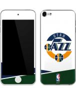 Utah Jazz White Split Apple iPod Skin