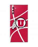 Utah Red Basketball Galaxy Note 10 Skin
