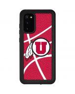 Utah Red Basketball Galaxy S20 Waterproof Case