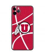 Utah Red Basketball iPhone 11 Pro Max Skin