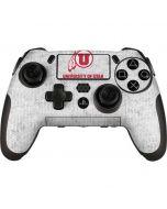 Utah Utes Distressed PlayStation Scuf Vantage 2 Controller Skin
