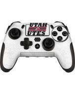 Utah Utes Italicized PlayStation Scuf Vantage 2 Controller Skin