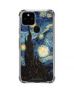 van Gogh - The Starry Night Google Pixel 5 Clear Case