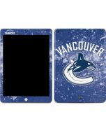 Vancouver Canucks Frozen Apple iPad Skin