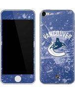 Vancouver Canucks Frozen Apple iPod Skin