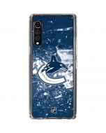 Vancouver Canucks Frozen LG Velvet Clear Case