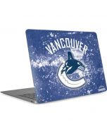 Vancouver Canucks Frozen Apple MacBook Air Skin