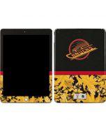 Vancouver Canucks Retro Tropical Print Apple iPad Skin
