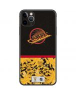 Vancouver Canucks Retro Tropical Print iPhone 11 Pro Max Skin