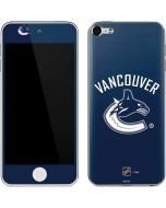 Vancouver Canucks Solid Background Apple iPod Skin