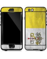 Vatican City Flag Distressed LifeProof Nuud iPhone Skin