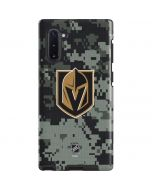 Vegas Golden Knights Camo Galaxy Note 10 Pro Case
