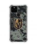 Vegas Golden Knights Camo Google Pixel 5 Clear Case