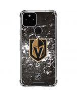 Vegas Golden Knights Frozen Google Pixel 5 Clear Case