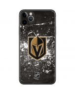 Vegas Golden Knights Frozen iPhone 11 Pro Max Skin