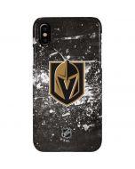 Vegas Golden Knights Frozen iPhone XS Max Lite Case
