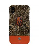 Vegas Golden Knights Realtree Max-5 Camo iPhone XS Max Lite Case