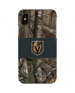 Vegas Golden Knights Realtree Xtra Camo iPhone XS Max Lite Case