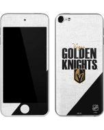 Vegas Golden Knights Script Apple iPod Skin