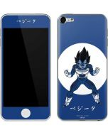 Vegeta Monochrome Apple iPod Skin