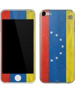 Venezuela Flag Distressed Apple iPod Skin