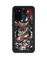 Venom Shows His Pretty Smile Galaxy S20 Waterproof Case