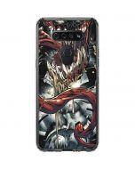 Venom Shows His Pretty Smile LG K51/Q51 Clear Case