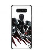 Venom Slashes LG K51/Q51 Clear Case