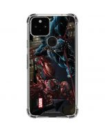Venom vs Carnage Google Pixel 5 Clear Case