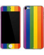 Vertical Rainbow Flag Apple iPod Skin