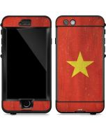 Vietnam Flag Distressed LifeProof Nuud iPhone Skin