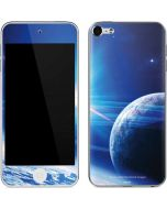View of a Planet as it Looms in Close Orbit and with Rings Apple iPod Skin