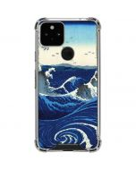 View of the Naruto whirlpools at Awa Google Pixel 5 Clear Case