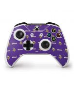 Minnesota Vikings Blitz Series Xbox One S Controller Skin