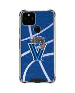 Villanova Basketball Print Google Pixel 5 Clear Case