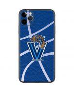 Villanova Basketball Print iPhone 11 Pro Max Skin