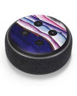 Violet Watercolor Geode Amazon Echo Dot Skin