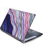 Violet Watercolor Geode Generic Laptop Skin