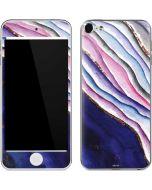 Violet Watercolor Geode Apple iPod Skin