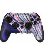 Violet Watercolor Geode PlayStation Scuf Vantage 2 Controller Skin